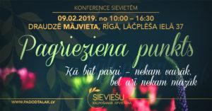 "Konferences ""PAGRIEZIENA PUNKTS"" programma"
